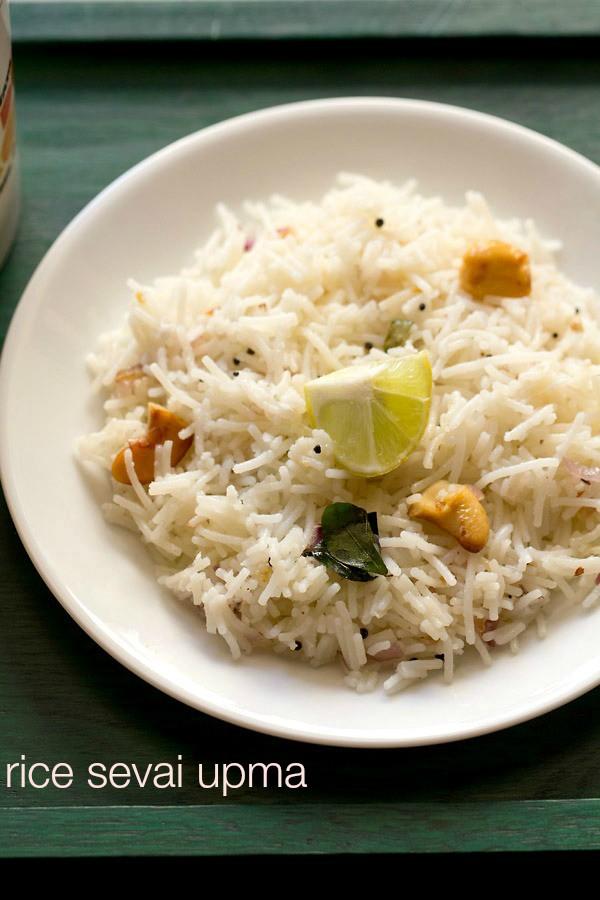 rice sevian upma recipe, rice sevian upma