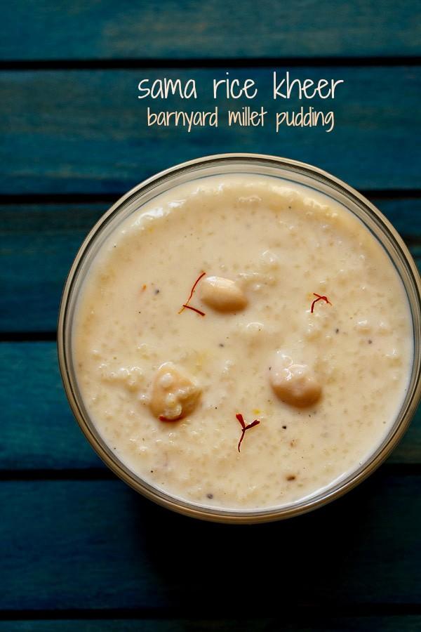Samvat rice kheer recipe vrat ke chawal ki kheer sama rice kheer ccuart Gallery