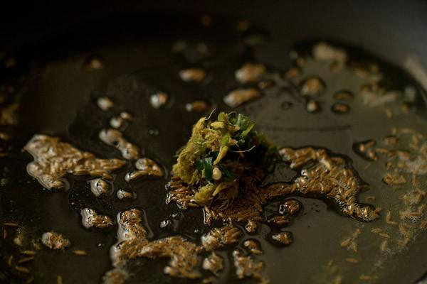 ginger for vrat ki kadhi recipe