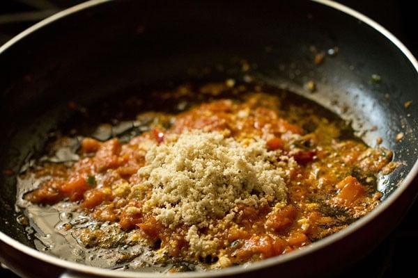 cashew powder for achari paneer recipe