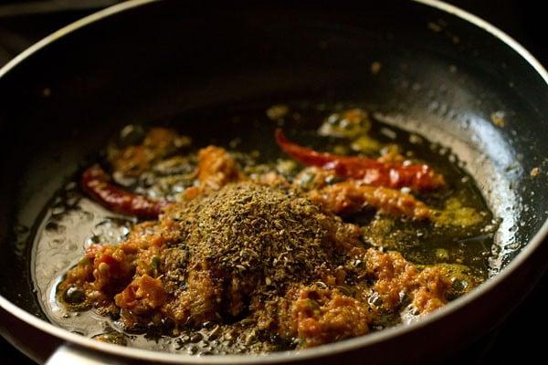 ground achari masala for achari paneer recipe