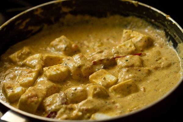 making achari paneer recipe