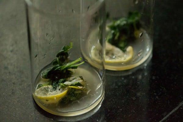 lemon juice for basil lemon mojito recipe