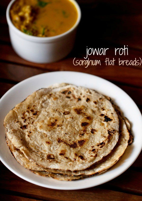 jowar roti recipe, how to make jowar roti | jowar bhakri recipe