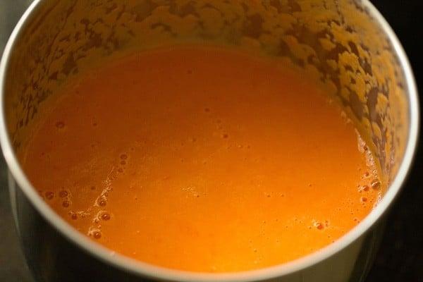 tomato puree for kaju butter masala recipe