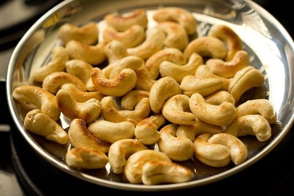 kaju for kaju butter masala recipe