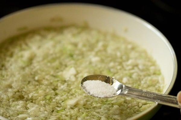 salt for lauki raita recipe