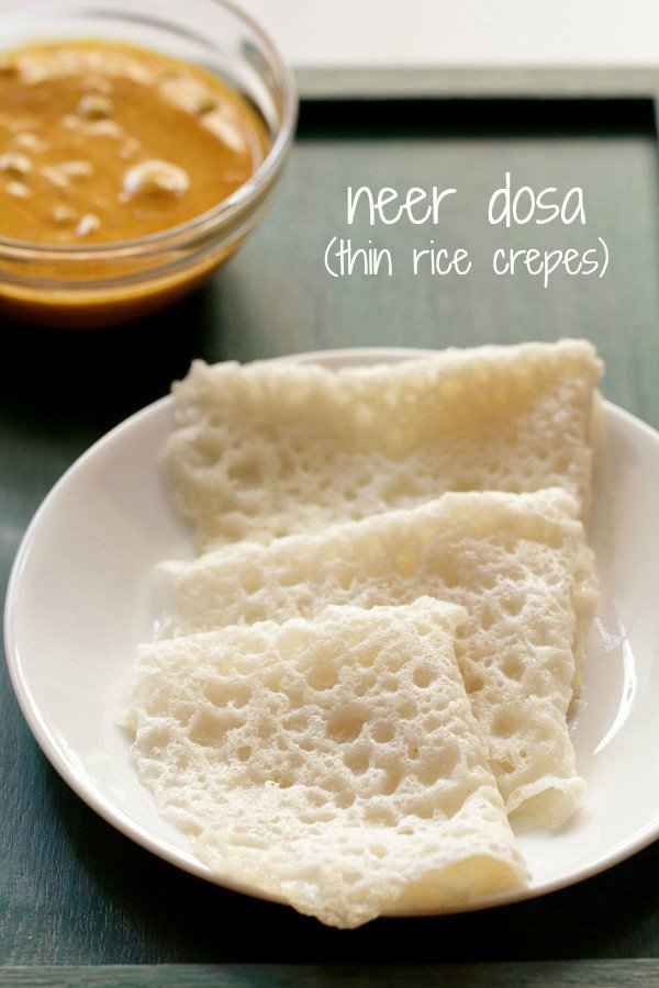 neer dosa recipe, how to make neer dosa recipe | dosa recipes