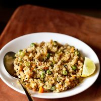 oats upma recipe, how to make oats upma recipe | oats recipes