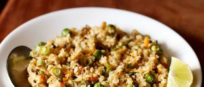 oats upma recipe, how to make oats upma | oats recipes