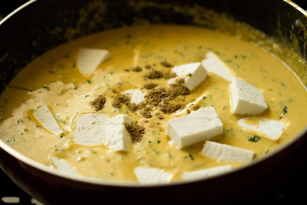 paneer for methi malai paneer recipe