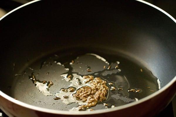 cumin for methi malai paneer recipe
