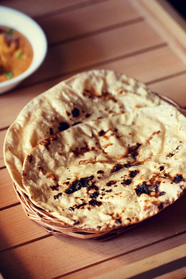 punjabi tandoori roti, tandoori roti recipe