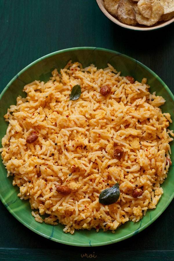 raw mango rice, raw mango rice recipe, mavinkayi chitranna recipe