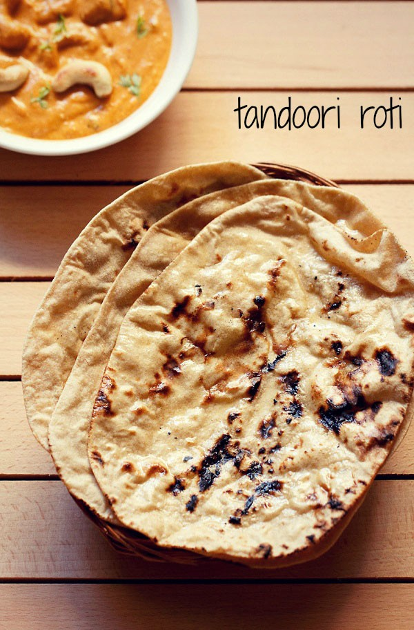 tandoori roti recipe on stove top, how to make tandoori roti on tawa (tava)