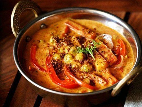 veg kadai gravy recipe