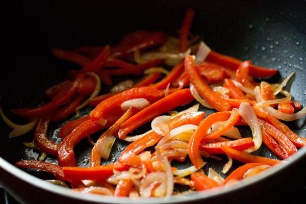 veggies for veg kadai recipe