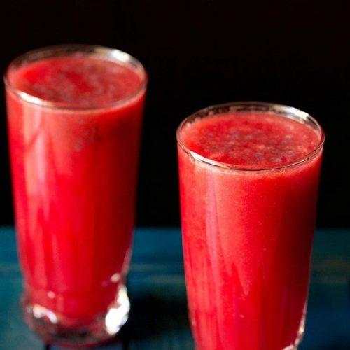 watermelon rose cooler recipe