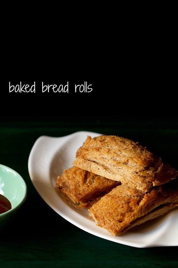 baked bread rolls recipe, how to make baked bread rolls recipe