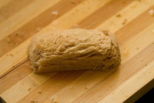 making baked bread rolls recipe