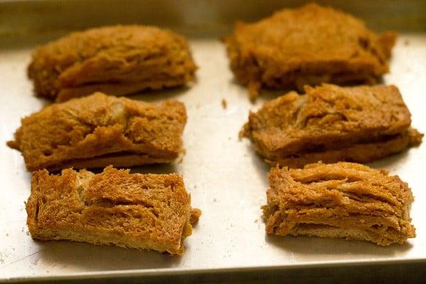 baked bread rolls
