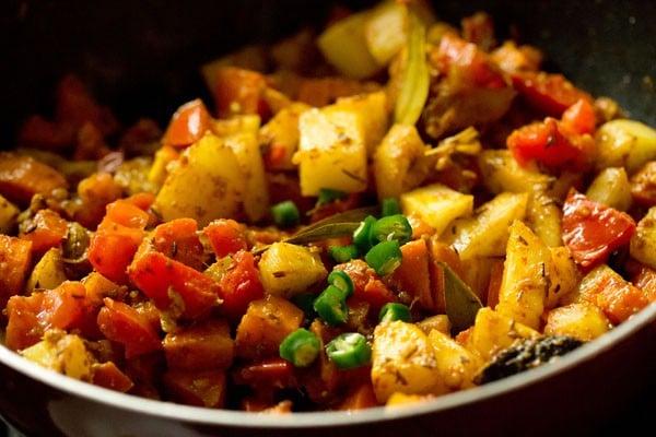 making bombay biryani recipe