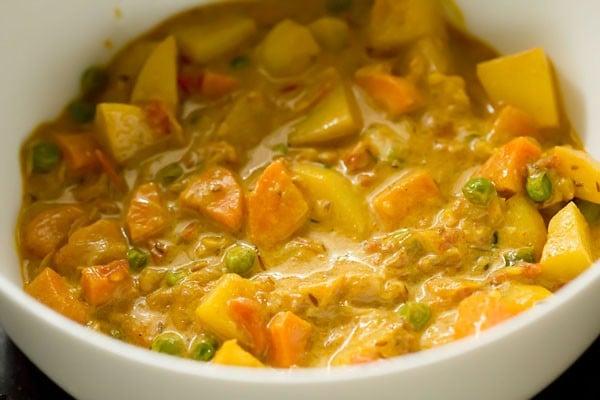 veg gravy for bombay biryani recipe