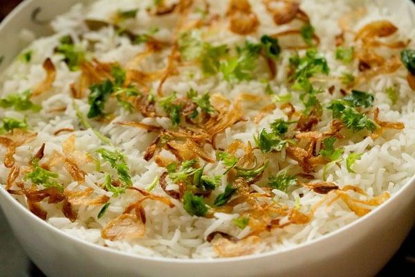 mint layer for mumbai biryani recipe