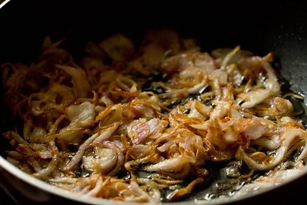 onions for mumbai biryani recipe