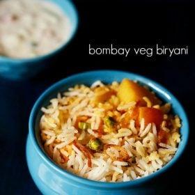 bombay biryani, bombay vegetable biryani recipe