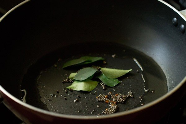 curry leaves for capsicum masala recipe