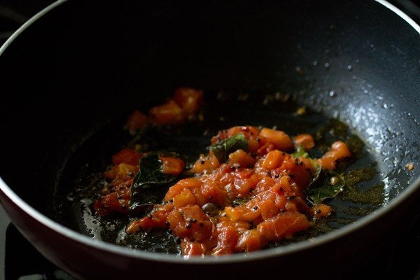 tomatoes for capsicum masala recipe