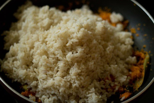rice for carrot rice recipe