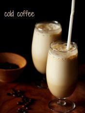 cold coffee recipe, how to make cold coffee recipe   cafe style cold coffee