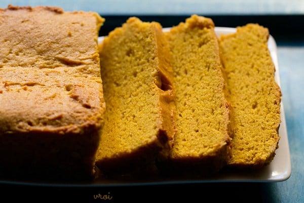 eggless mango cake recipe, whole wheat eggless mango cake recipe