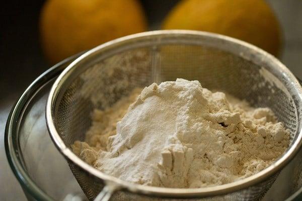 flour for eggless mango cake recipe