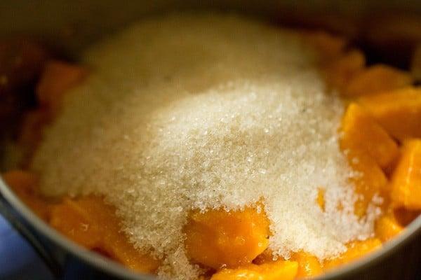 sugar for mango cake recipe