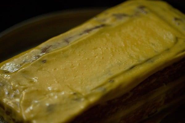 frosting for making eggless mango cake recipe