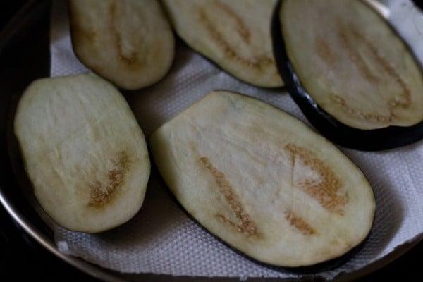 eggplant for eggplant parmigiana recipe