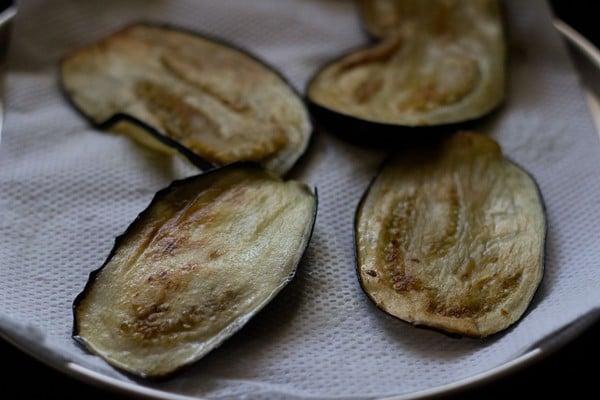 fried eggplant for eggplant parmigiana recipe