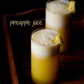 fresh pineapple juice recipe