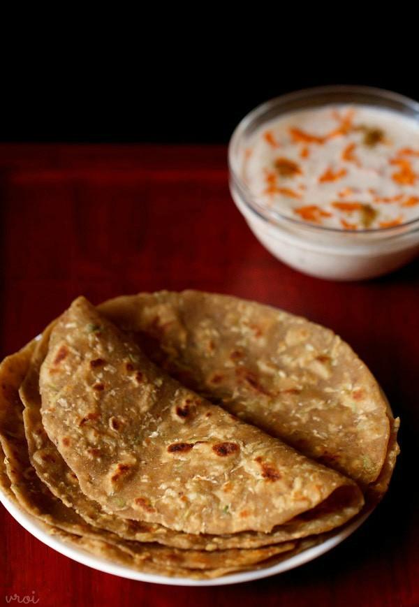 lauki paratha recipe, doodhi paratha recipe