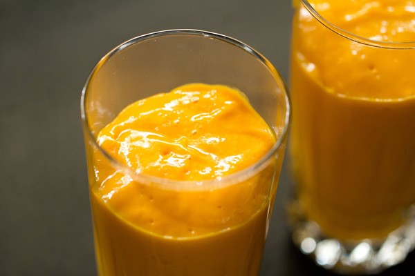 mango juice for mango mastani recipe