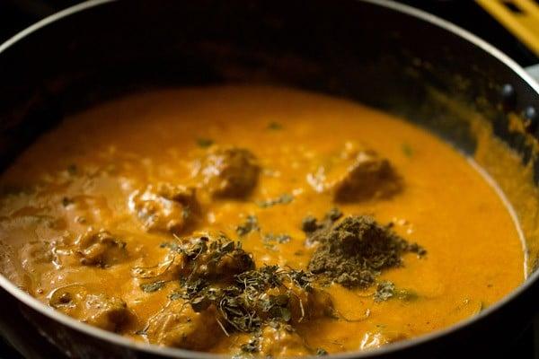 spices for mushroom tikka masala recipe