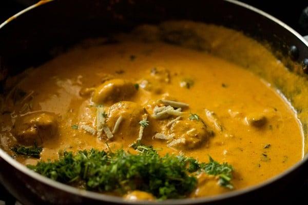 mushroom tikka masala recipe, restaurant style mushroom tikka masala