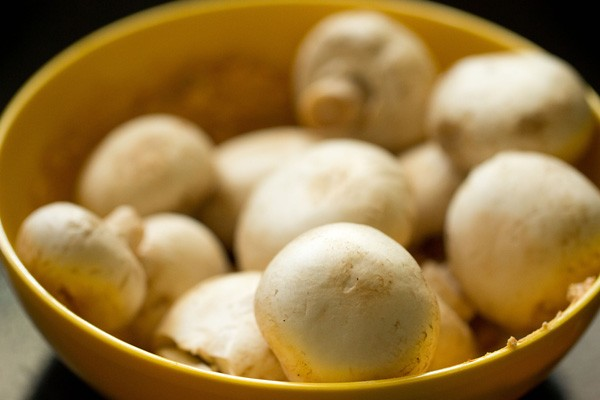 marination for mushroom tikka masala recipe
