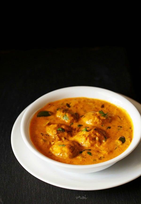 Mushroom Tikka Masala Recipe — Dishmaps
