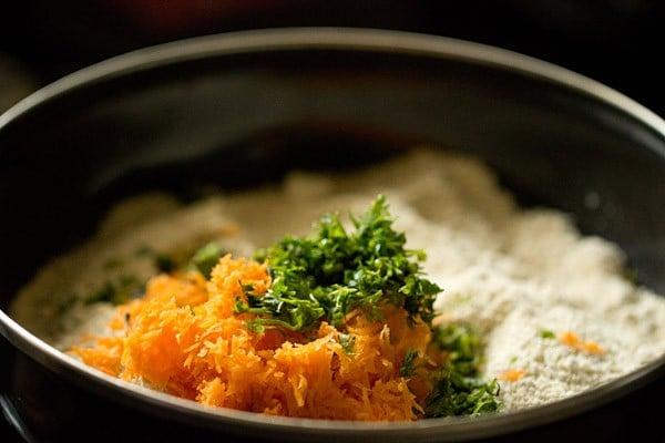 veggies for oats idli recipe