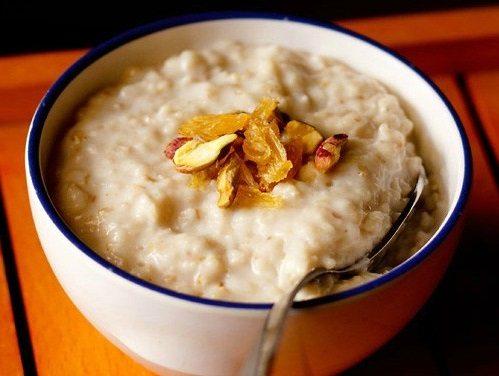 Oats Porridge Recipe How To Make Quick Oats Porridge Recipe