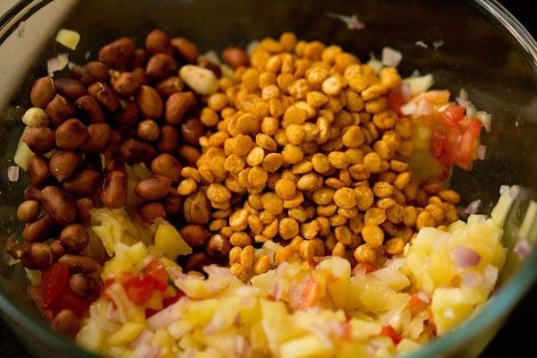 peanuts for raw mango chaat recipe